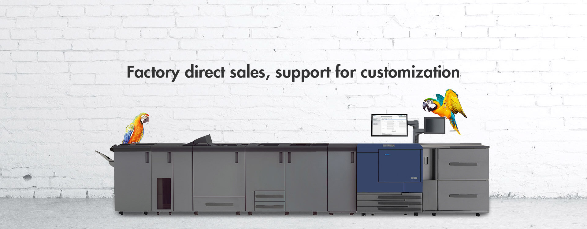 Factory Direct Sales, Support for Customization